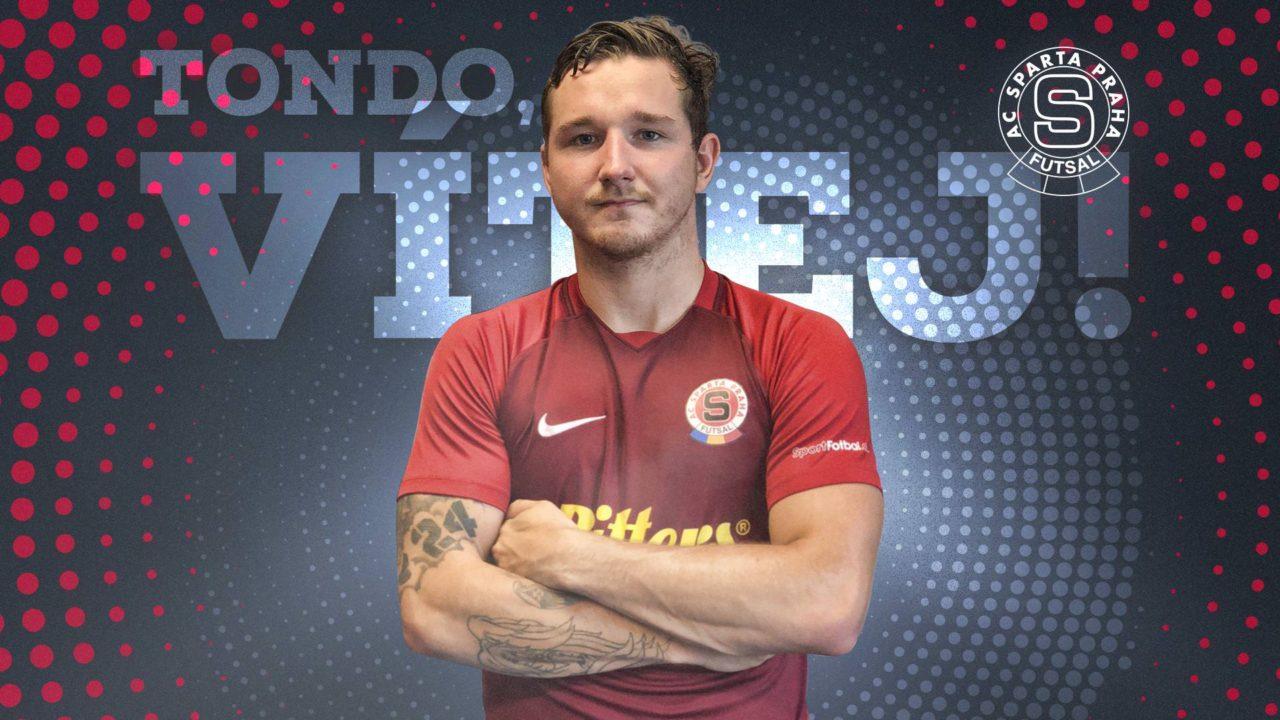 Antonín Hrdina je oficiálně hráčem pražské Sparty