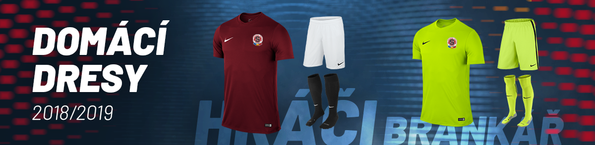 Domácí dresy AC Sparta Praha