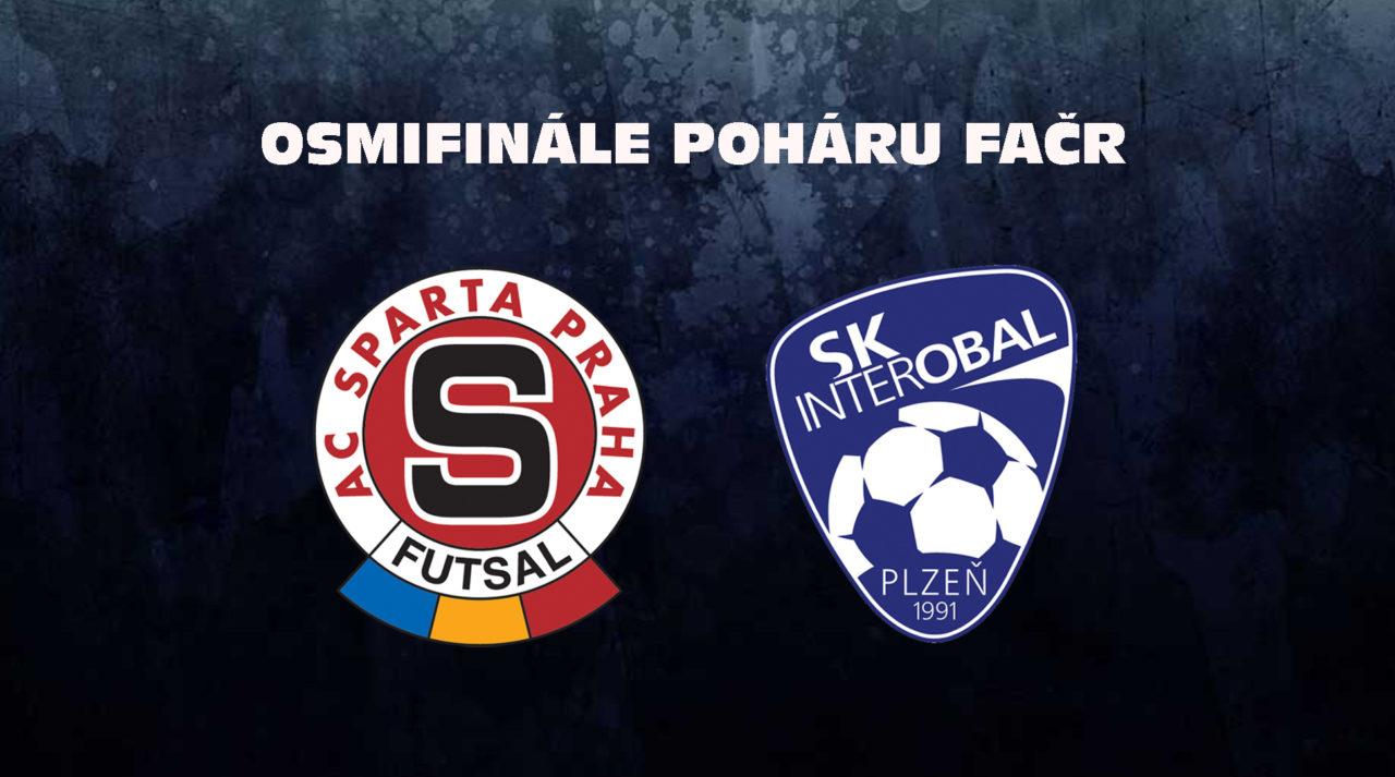 V osmifinále Poháru FAČR narazí Sparta na Interobal Plzeň