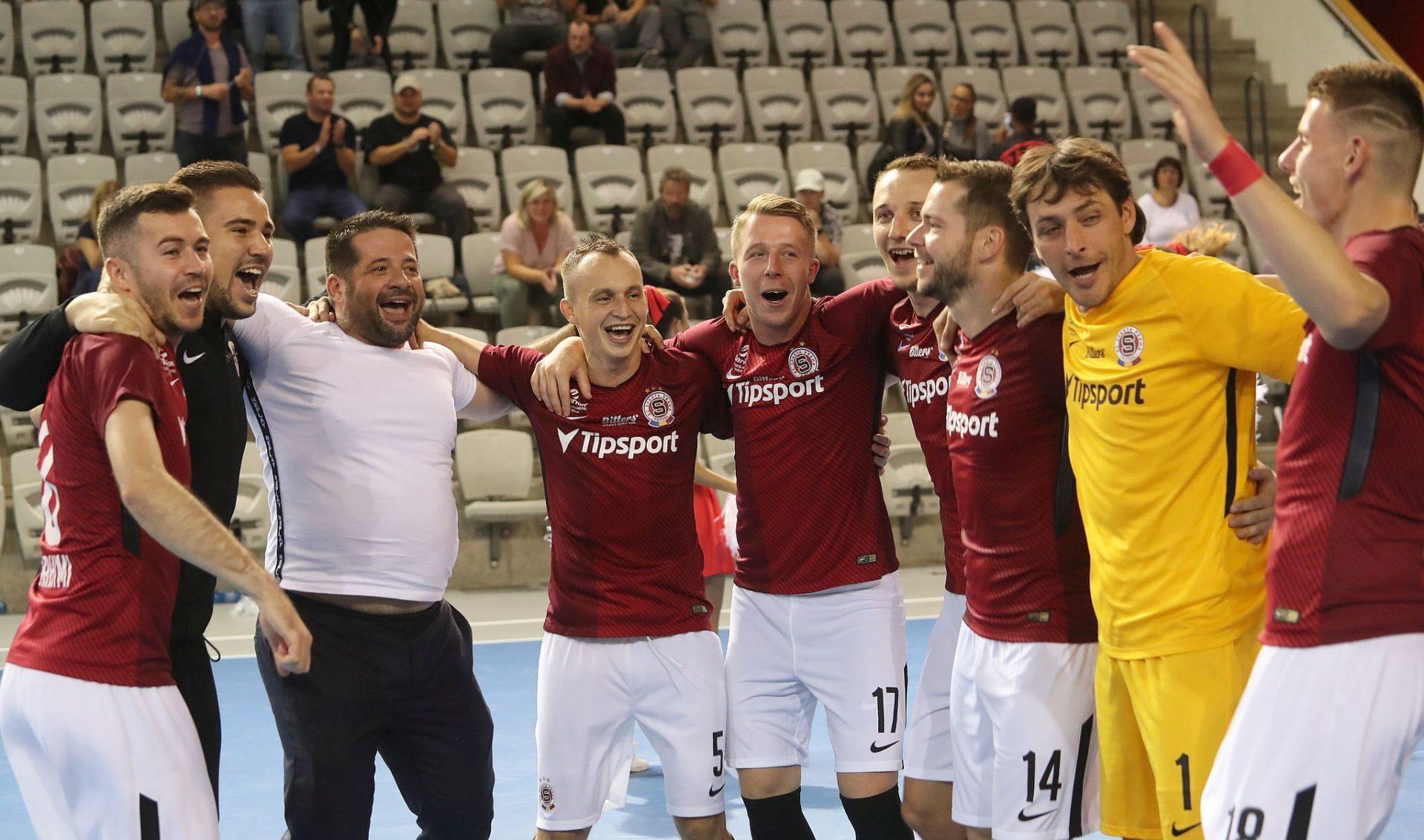 Sparta to dokázala a je mezi 16 nejlepšími týmy Evropy