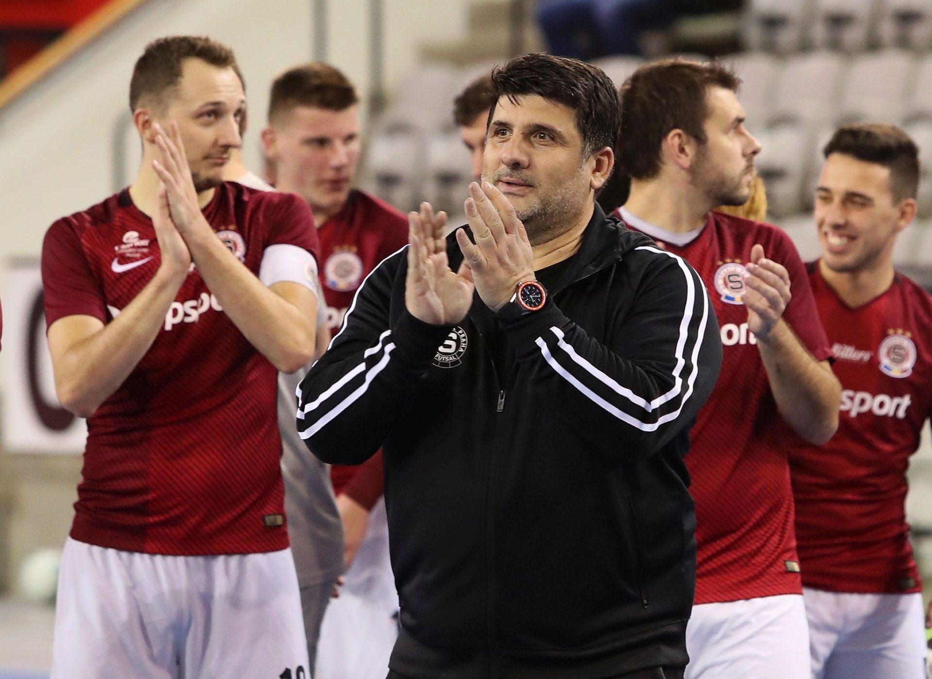 Futsalová Sparta doma vládne, dobré jméno má i v Evropě. Chceme, aby další sezona byla ještě lepší, velí kouč Simitči