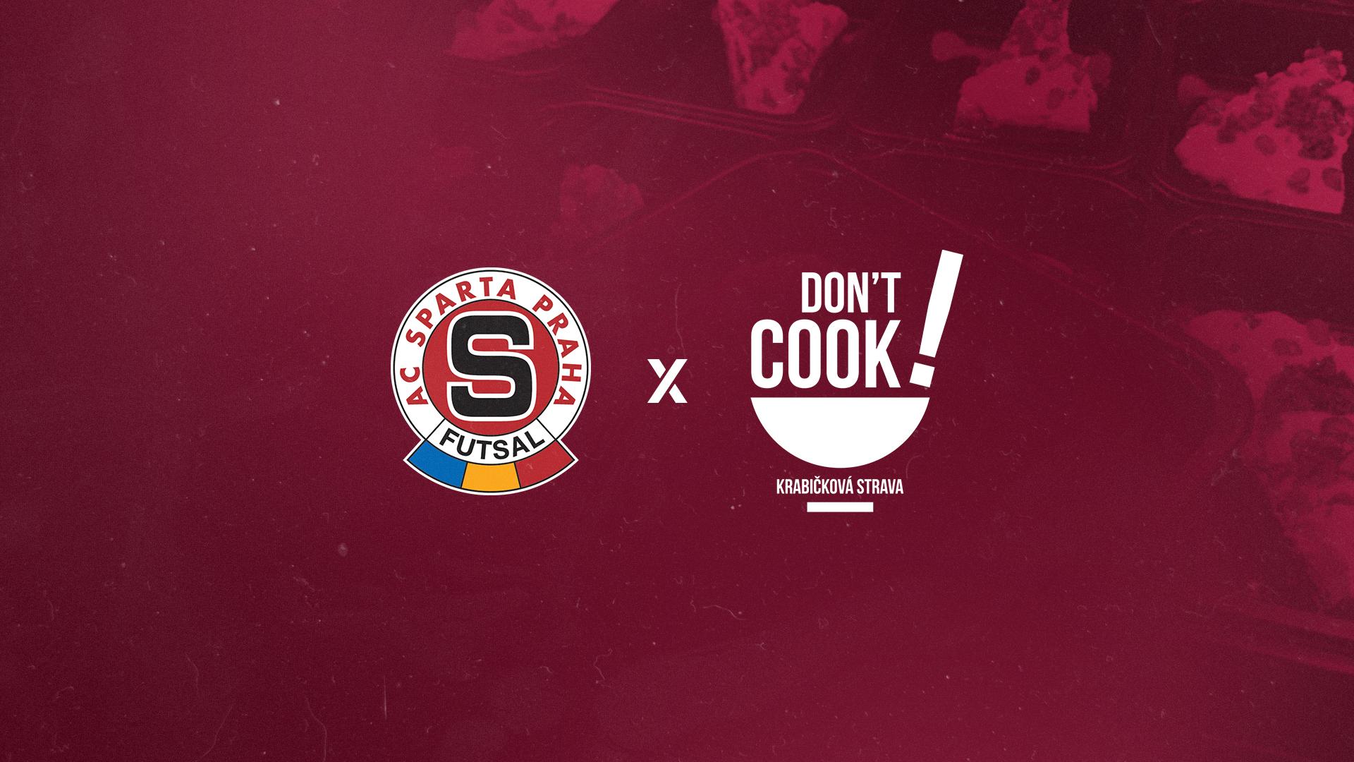 Sparta spolupracuje s firmou Don't Cook!