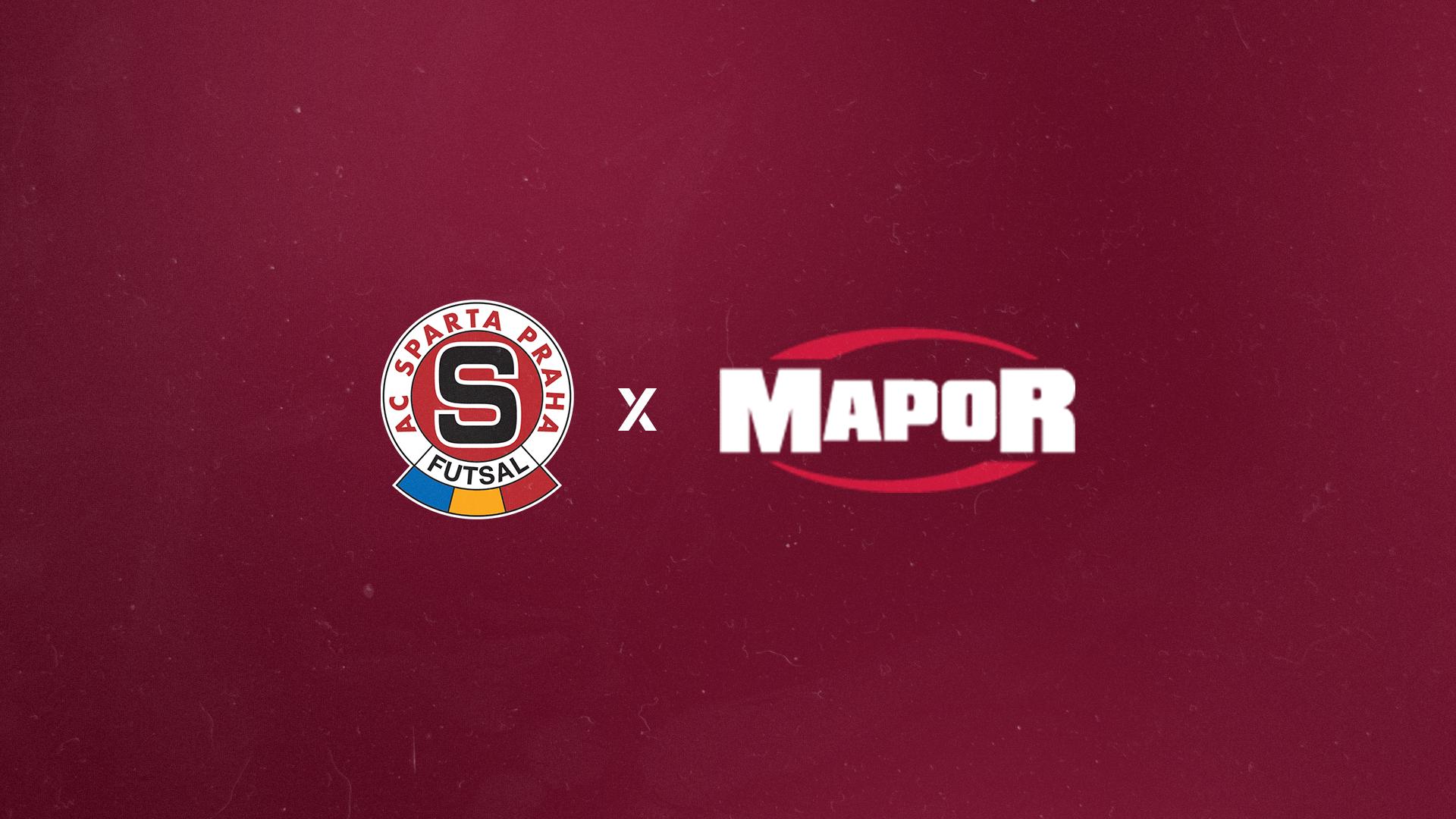 Sparta spolupracuje s firmou Mapor!