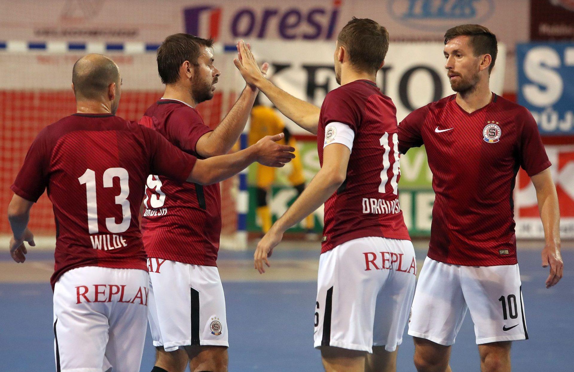 VARTA futsal liga se vrací do Prahy, na Spartu přijede Liberec