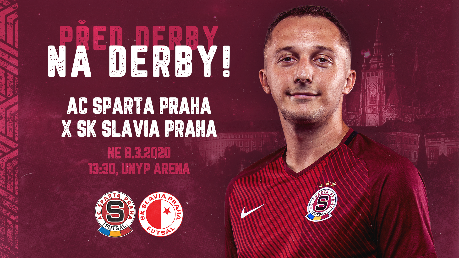 Před derby na derby! V neděli do UNYP Areny přijede Slavia